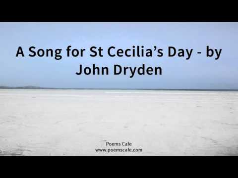 A Song for St Cecilia's Day   by John Dryden