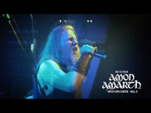 Amon Amarth live in Sofia on 3rd of December at Inter Expo Center