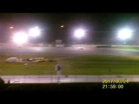 Lebanon I 44 Speedway Pro Late Model feature  6 24 17