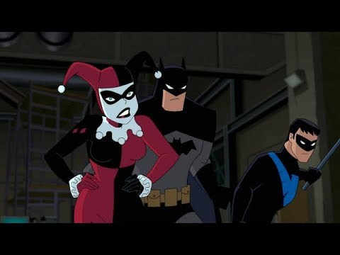 Comic Uno Batman and Harley Quinn (Movie Review)