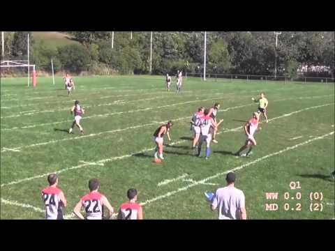 AFL Quebec 2015 - Mens Grand Final - West Island Wooders vs Montreal Demons