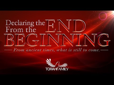 Declaring the End from the Beginning