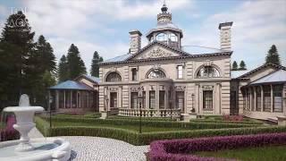 Загородный дом в стиле классицизма