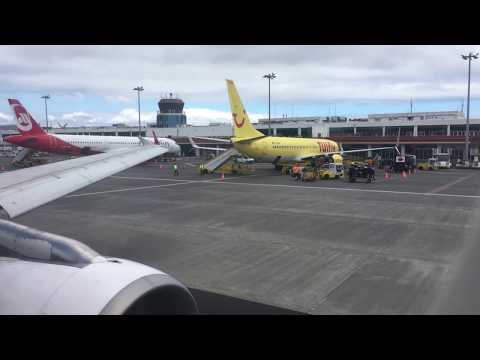 TAP Portugal A319 - Funchal to Lisbon (Pushback, Engine Start, Taxi, Takeoff, Landing)