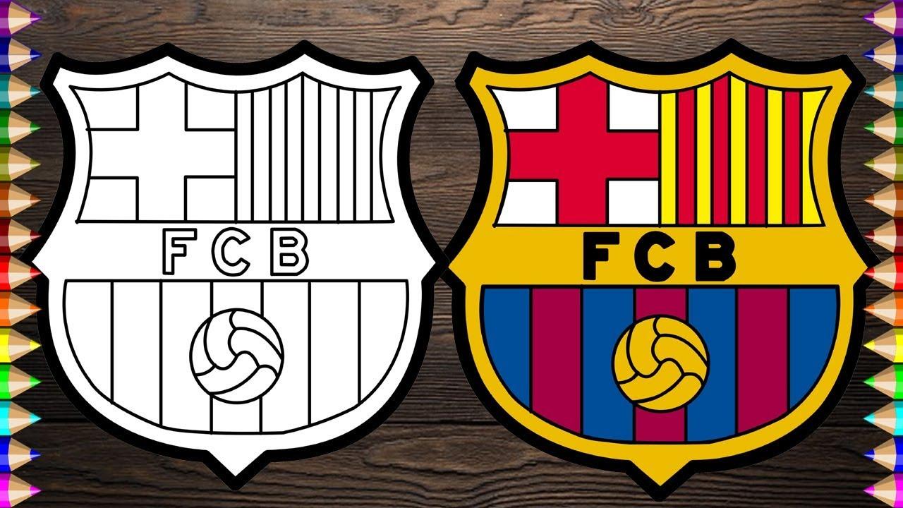a7ba6974f01 Draw and Color - Barcelona Logo