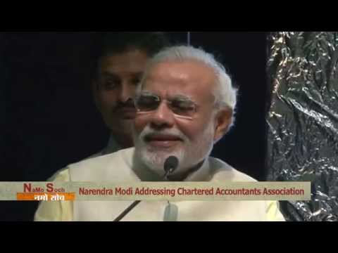 Namo Soch (Addressing Chartered Accountants Association)