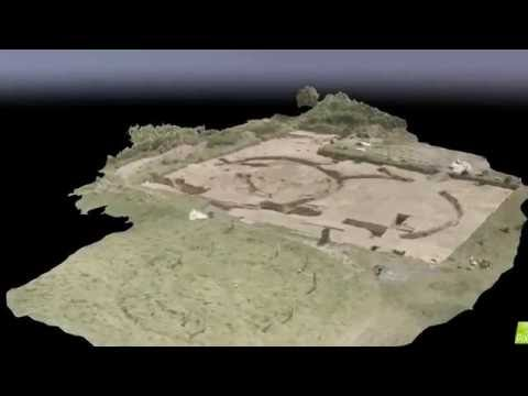 3D Model of Archaeological Site using Drones