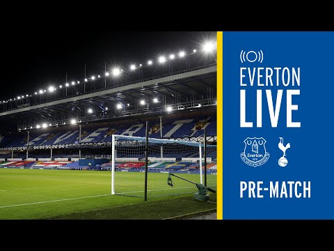 EVERTON V TOTTENHAM | LIVE PRE-MATCH SHOW FROM GOODISON PARK!
