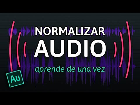 NORMALIZAR AUDIO en