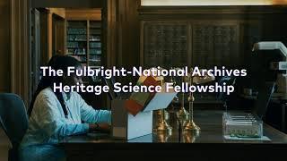 Fulbright - National Archives Partnership