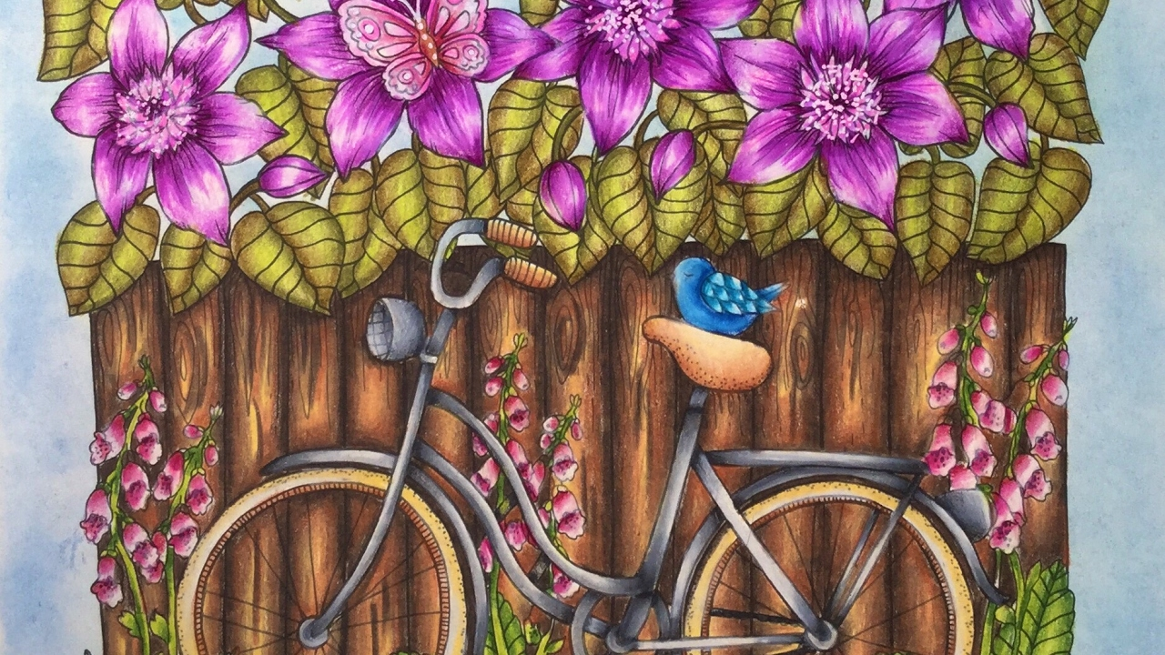 BLOMSTERMANDALA - TWILIGHT GARDEN by Maria Trolle - prismacolor ...