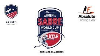 Salt Lake City Women's Sabre World Cup 2019 Team Medal Matches