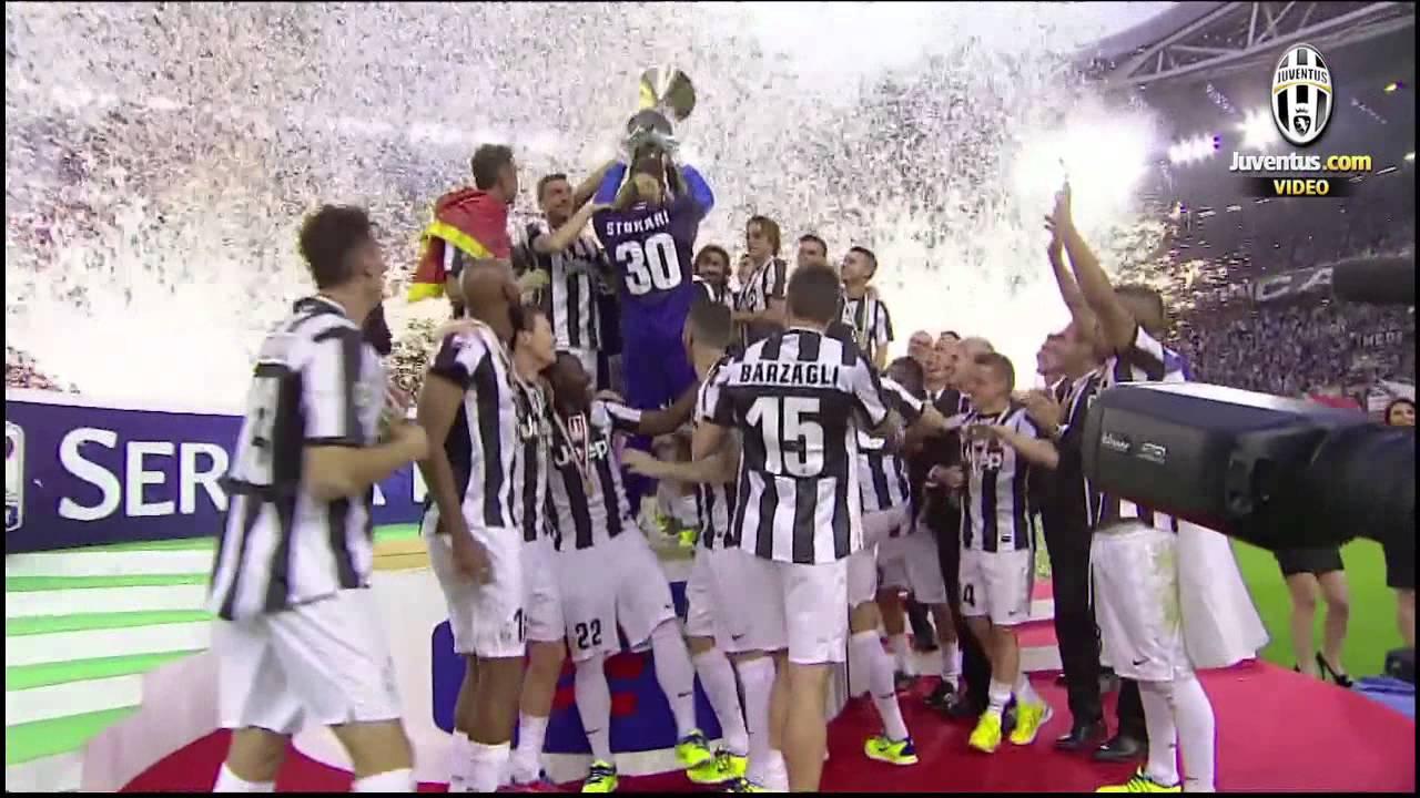 Juventus Campione d'Italia, la premiazione - Scudetto trophy presentation