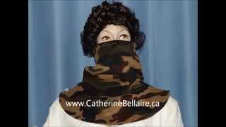 Camouflage Fall Polar Fleece by Catherine Bellaire Thumbnail