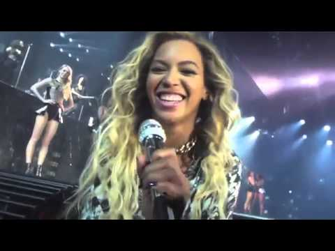 Beyonce sings Happy Birthday up close and personal