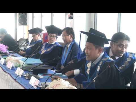 Dok Humas Untad, Ujian Terbuka Program Doktor Dr  Isrun Muh  Nur, SP MP
