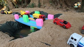 Build Bridge For Car Toys - Video For Kids - Toy Car For Kids