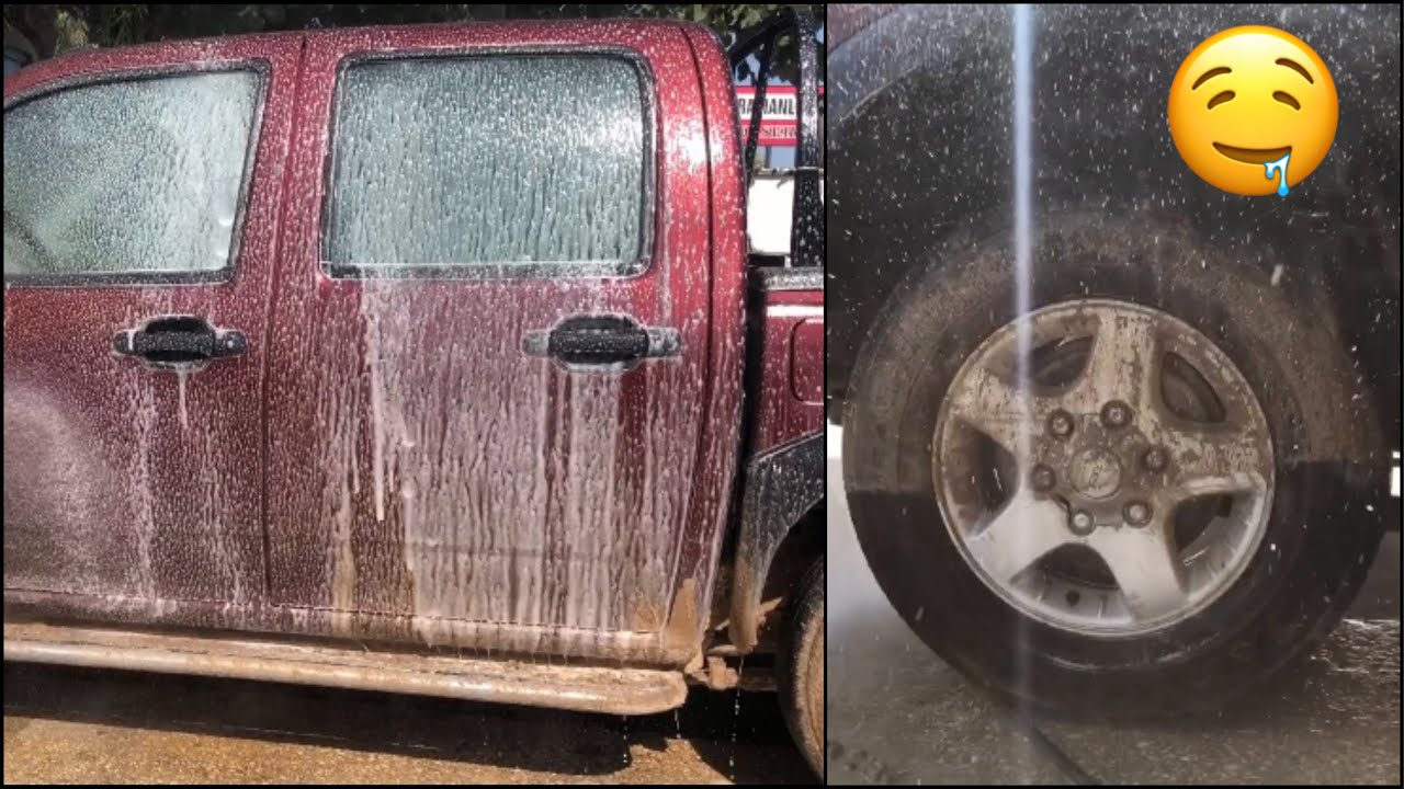 JEEP ÇEYREK TON HAFİFLEDİ! JEEP lighter a quarter TON! How to wash SUPER MUDDY JEEP ? #clean #asmr