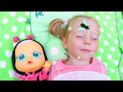 Nastya and Baby doll vs Pesky Flies! nd other Funny Stories by Like Nastya