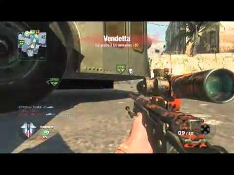 CoD Black Ops- Sniper Montage