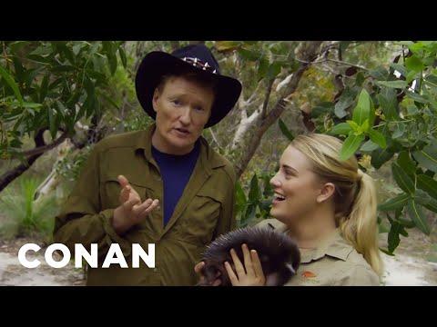 Sheri Van Dyke - Get A Sneak Peek At Conan In Australia!
