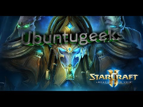 Install Starcraft 2 Legacy of the void Linux