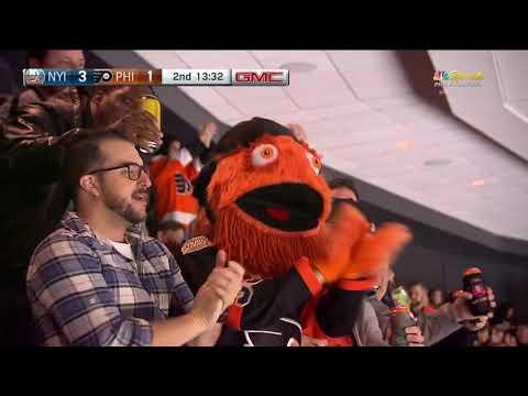 Jori Lehtera Goal - Philadelphia Flyers vs New York Islanders (10/27/18)