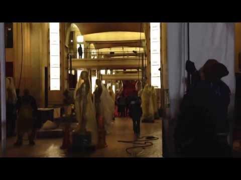 U2 Vertigo Radio sobre la alfombra roja de los Oscar 2014