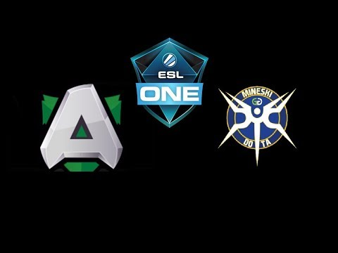 Alliance vs Mineski ESL One Hamburg 2018 Highlights Dota 2
