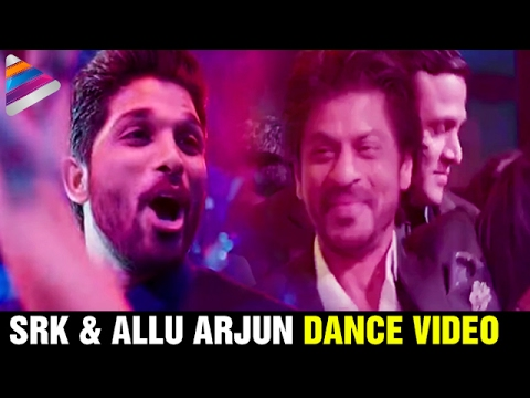 Shah Rukh Khan and Allu Arjun Dance Video | T Subbarami Reddy Grand Son Keshav Sangeet | SRK