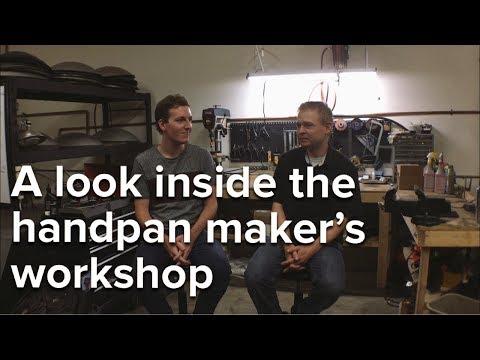 A look inside the handpan maker's workshop (mini-documentary)