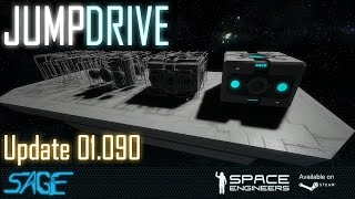Space Engineers, Jump Drives (Update 01.090) (4k, 60fps)