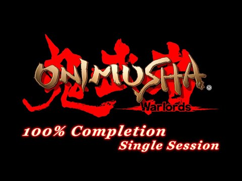 Onimusha HD Remaster 100% Completion (Single Session)