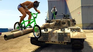 GTA 5 Epic BMX tricks #16 'BANG' (Gta 5 stunts bmx teamtage)