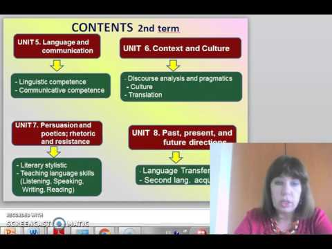 UTPL SUBJECT INTRODUCTION VIDEO [(INGLES)(INTRODUCTION TO APPLIED LINGUISTICS)]