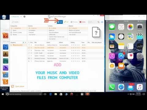 How to Transfer or Copy  Music and Videos to iphone  Without itunes 2017