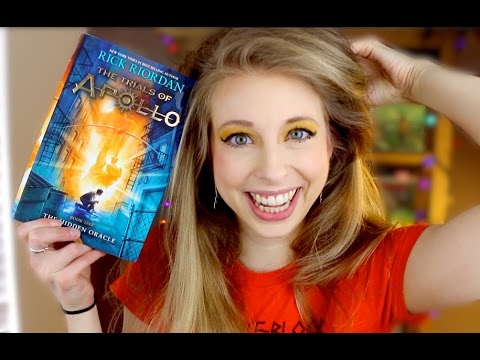 THE TRIALS OF APOLLO BY RICK RIORDAN | booktalk with XTINEMAY