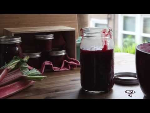 Recipe for Rhubarb Berry Jam | How to Can | Allrecipes.com