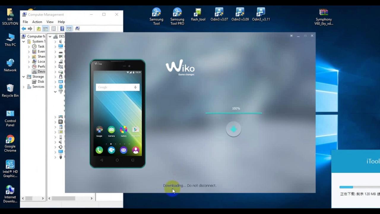 Gehäuse - Wiko-Smartphone mit wechselbarem Akku