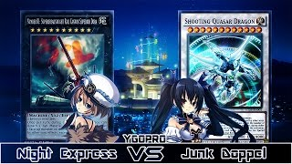 YGOPRO (2 out of 3/Replay): VS NoireRulz29 - Night Express VS Junk Doppel