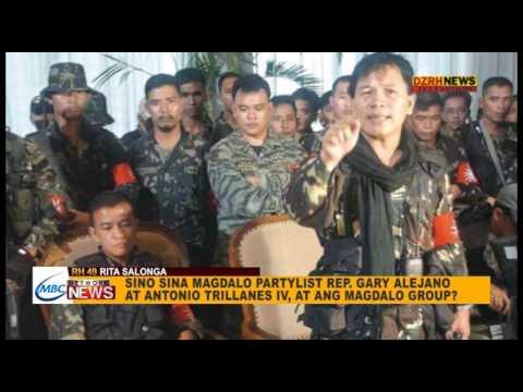 Alam Ba News: Sina Magdalo Rep. Gary Alejano, Senator Antonio Trillanes IV at ang Magdalo group