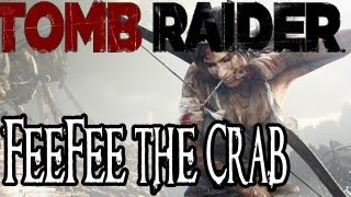 Tomb Raider (2013) Easter Egg - Fee Fee the Crab - Crab Cakes Secret Achievement
