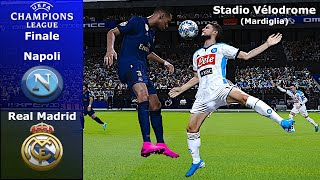 pES 2020 | Real Madrid vs Napoli | UEFA Champions League 2020 | Gameplay PC