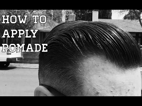 Amazing Menu0027s Hair Tutorial   How To Use Pomade