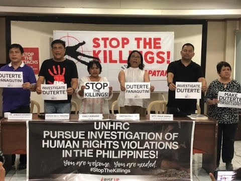 Respect UNHRC action to look into PH rights situation, gov't told