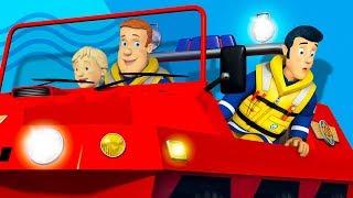 Пожарный Сэм на русском | Команда спасает деньт 🚒 Эпизоды Компиляция | Новые серии HD🔥 мультфильм