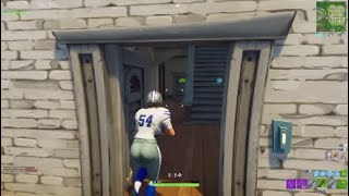 Fortnite Solo Win #63 ft Female Dallas Cowboys NFL Skin