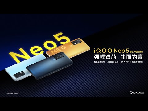 IQOO Neo 5 Trailer Commercial Official Video HD | IQOO Neo 5 5G