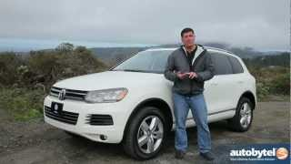 2012 Volkswagen Touareg TDI Test Drive & SUV Video Review