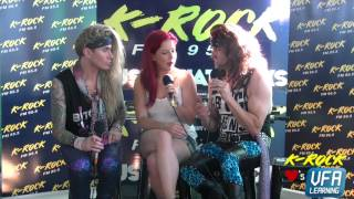 K Rock Interviews Steel Panther at Soundwave 2015